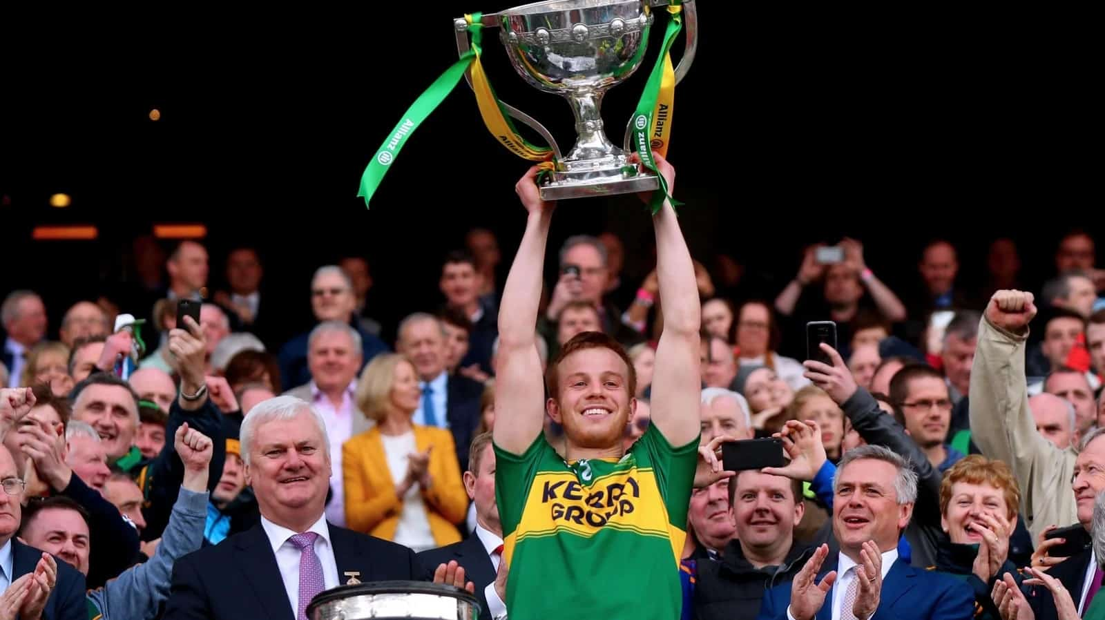 Fionn Fitzgerald to Captain Kerry in 2018