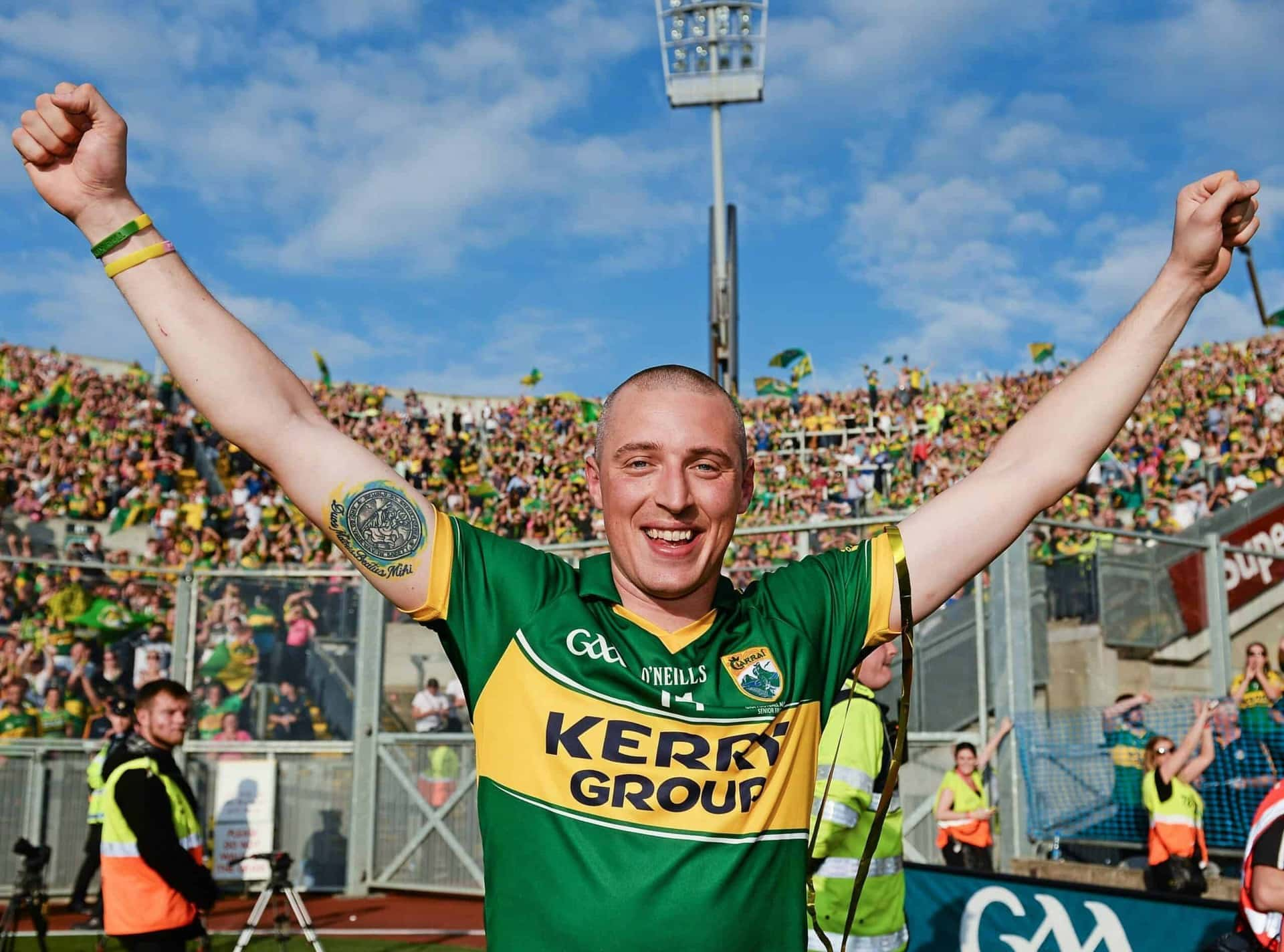 Kieran Donaghy Announces his Retirement from Kerry Football
