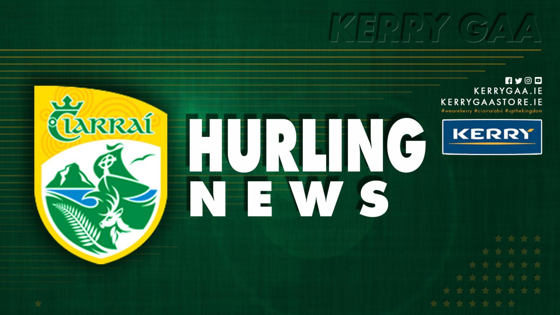 This week's Hurling News