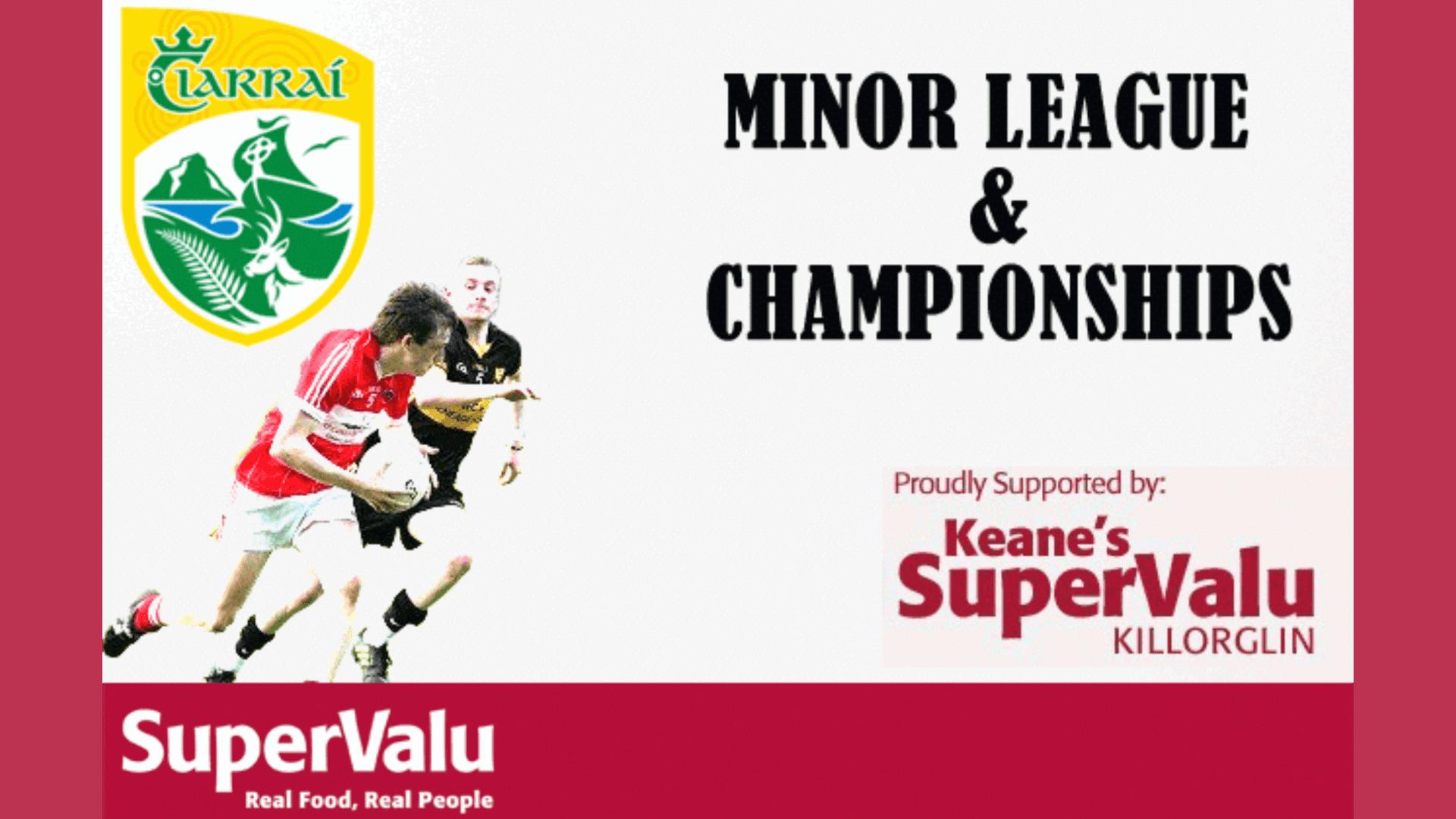 Keane's SuperValu Minor Football Championship