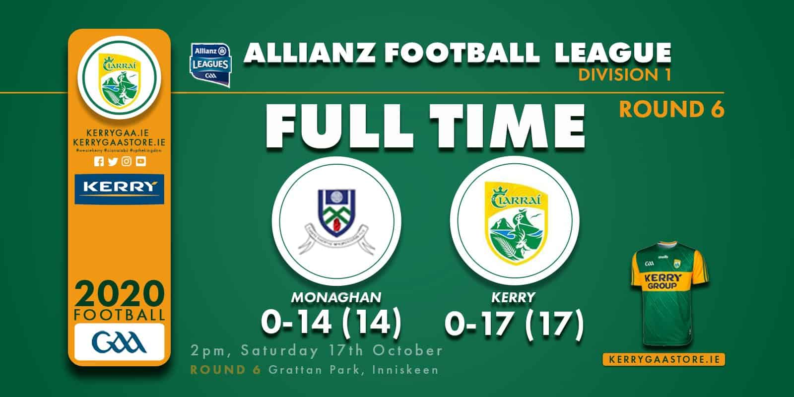 A win for Kerry in Inniskeen!