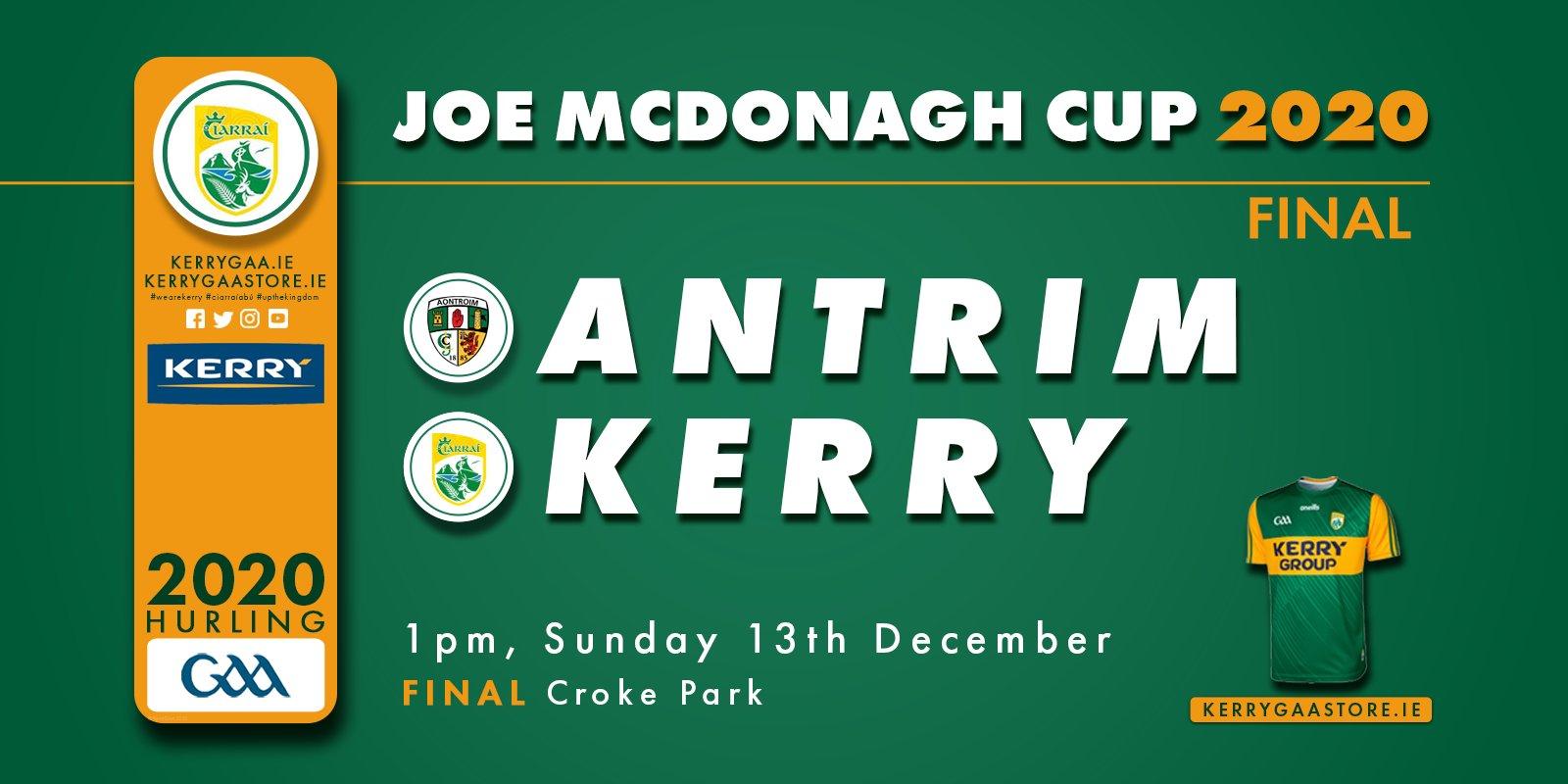 Joe McDonagh Cup Final