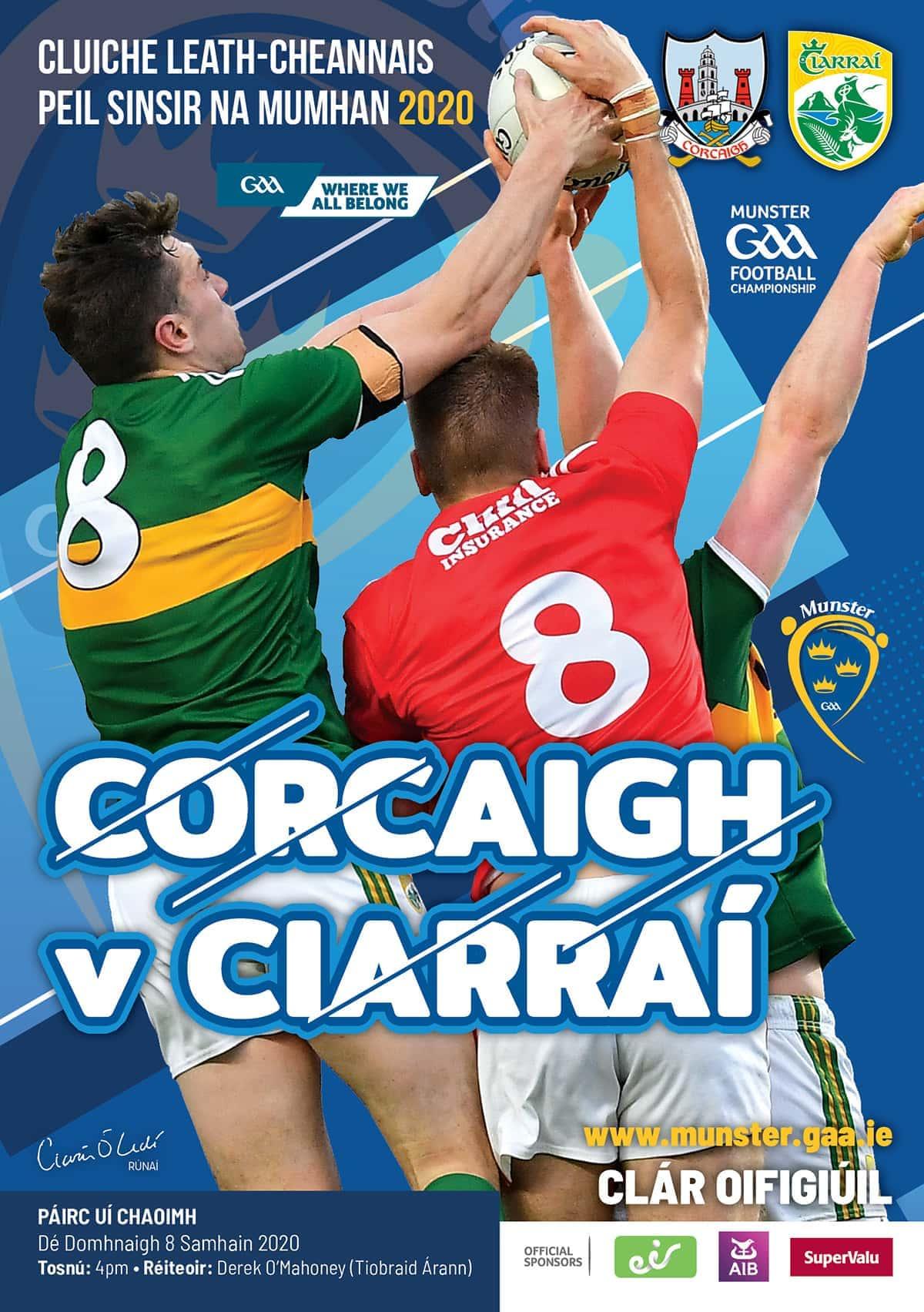 Kerry GAA - Munster Senior Football Championship Semi Final Cork v Kerry