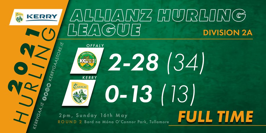 Offaly prove too strong for Kerry in AHL, Round 2