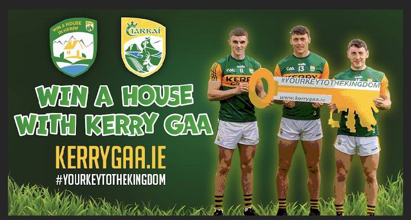 Win a House with Kerry GAA – BONUS DRAW!!
