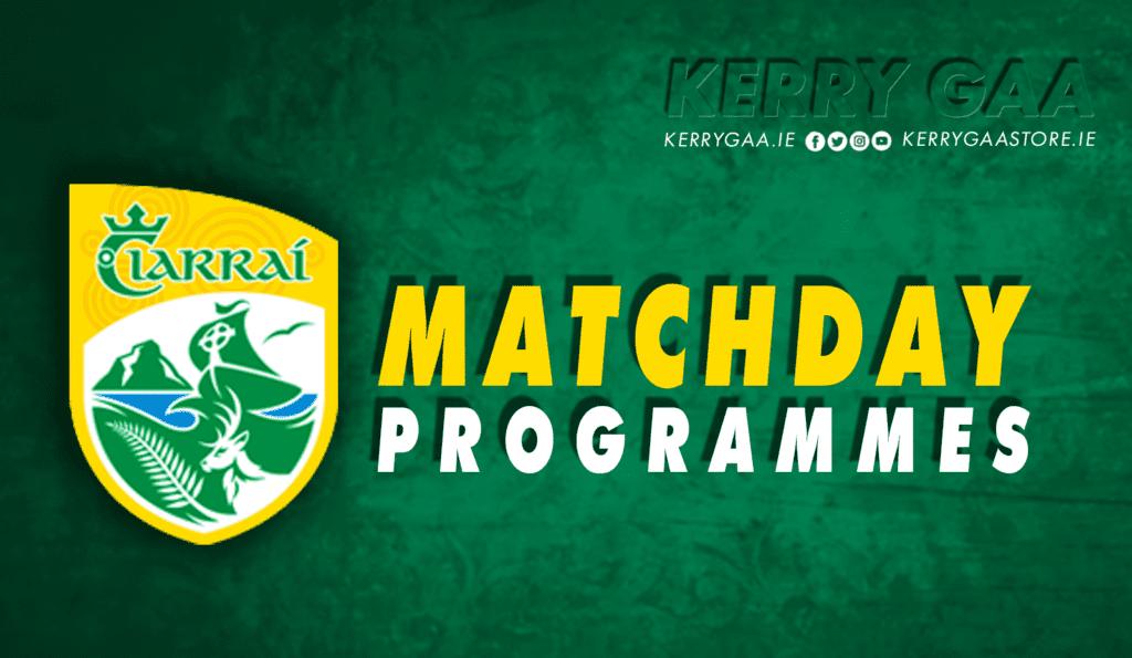 Match Programmes – Sunday Games
